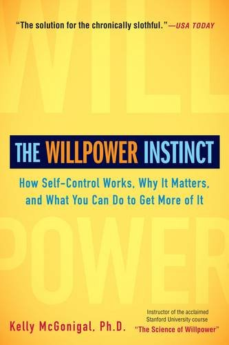 The Willpower Instinct Book Image