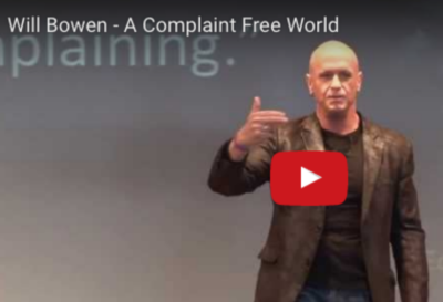 Will Bowen: The Heart Of A Complaint Free World