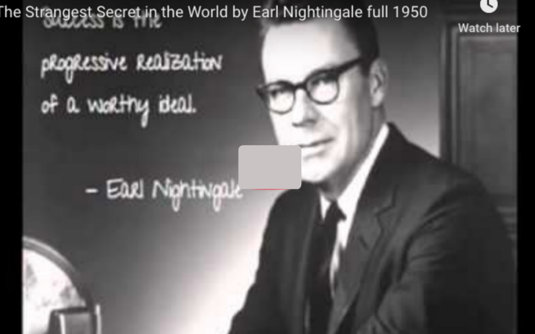 Success Is… Words Of Wisdom From 1950 Radio. By Earl Nightingale